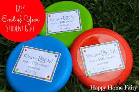 easy end of year student gift free printable happy home fairy
