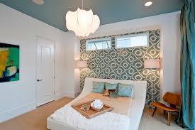 light aqua paint color dining room contemporary with blue curtains