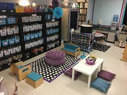 Floors Decor And More Purple Black Teal Class Decor Classroom Library Flexible