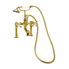 kingston brass victorian 3 handle tub wall claw foot tub faucet