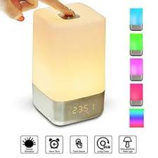 Wake Up Light Alarm Clock Sunrise System Natural Dawn Simulator Alarm Clock Light Box