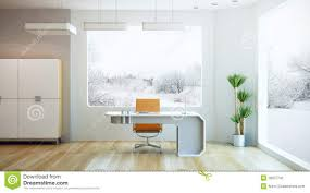 interior design of modern office stock image image 18207741