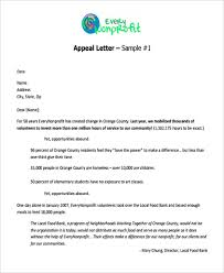 sample appeal letter format 9 free documents in word pdf