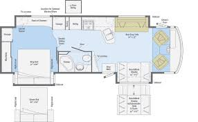 class a rv floor plans adventurer floorplans winnebago rvs
