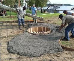 Outdoor Concrete Patio Patio U0026 Pergola Awesome Concrete Patio Ideas For Small Backyards