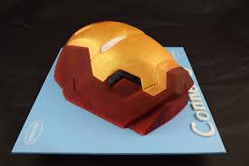 iron man cake scrumptons