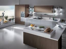 contemporary kitchen laminate wooden lacquered h 72 75