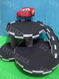 porta auto torre porta cupcakes cars golosinero 50 pirotines regalo cars