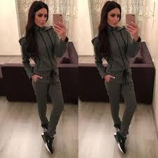 sweat suit jumpsuit stylish gray cotton sweatsuit with sweatsuit