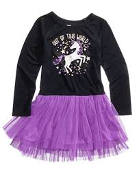 epic threads unicorn tutu dress toddler girls 2t 5t created