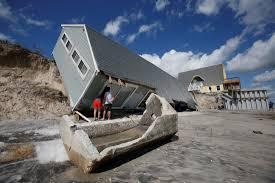 Coastal House Fierce Storms Haven U0027t Slowed Population Growth Along U S