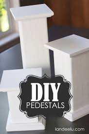 Modern Display Pedestal Diy Pedestals For Displaying Objects Tutorials Display And Craft