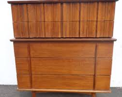United Furniture Etsy - Mid century modern danish bedroom furniture