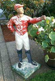42 best lawn jockey images on lawn derby and outdoor