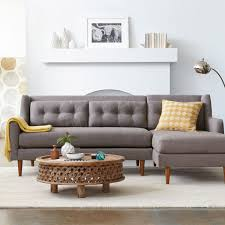West Elm Sectional Sofa Sectional Sofa West Elm Tantani Co