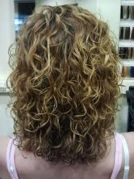 medium length hairstyles for permed hair big curls highlights medium length hairstyles pinterest