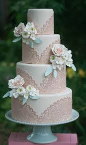 wedding cakes ideas 40 so pretty lace wedding cake ideas deer pearl flowers