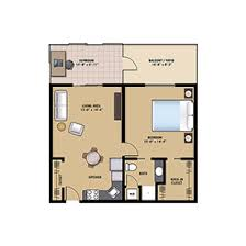 One Bedroom Floor Plans Retirement Apartments In Doylestown Pa Community At Rockhill