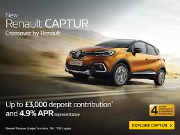new renault captur renault new car offers