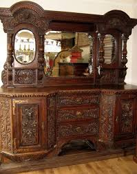 victorian gothic carved sideboard buffet cabinet antiques atlas