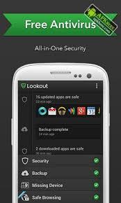 lookout security antivirus apk free lookout 10 20 1 e6fcce3 apk paid apkhere