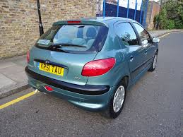 cheap 2002 51 peugeot 206 1 6 glx manual in bethnal green