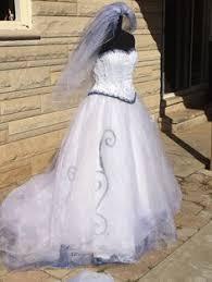 Halloween Costume Wedding Dress Corpse Bride Wedding Dress Halloween Costume Emily Girls Sz 14