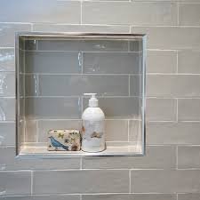 shower niche a handy little nook for the shower essentials this