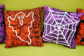 halloween yarn pillows diy sewing tutorial