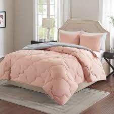 Pink Down Comforter Top 10 Best Cute Dorm Bedding Sets