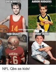 Tony Romo Meme Images - aaron rodgers drew brees conflmemes4you tony romo tom brady 49ers