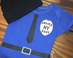 Baby Halloween Costumes Police Costume Etsy