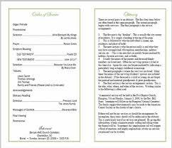 memorial booklet funeral bulletin sle elitebuilder co
