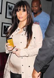 kim kardashian u0027s baby bump growing bigger photo huffpost
