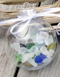 decor sea glass ornament nautical ornament