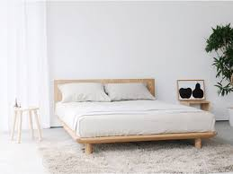 Simple White Bed Frame The 25 Best Low Bed Frame Ideas On Pinterest Low Beds Bed