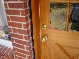 backyards how replace exterior door part installing trim molding