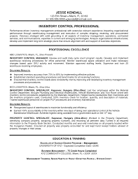 Best Resume Format For Logistics by Inventory Manager Resume Berathen Com