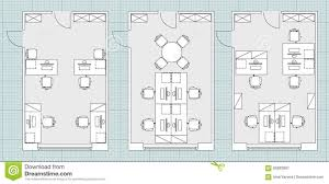 home office standard office furniture symbols floor plans used
