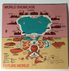 Disney World Epcot Map Epcot Center 1983 U2013 Young Walt Disney