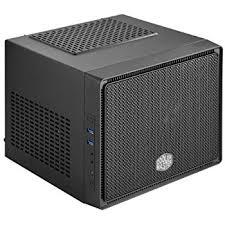 amazon computer cases black friday amazon com thermaltake core v1 black edition spcc mini itx cube