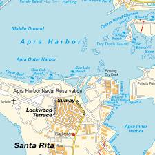 Map Of Guam Map Apra Guam Maps And Directions At Map