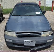 nissan altima coupe auction 1995 nissan altima item k2807 sold september 19 city of