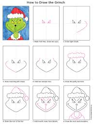draw the grinch grinch tutorials and