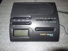 clock radio with night light vintage timex indiglo night light portable am fm radio alarm clock