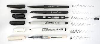 my top 7 sketching pens of the year