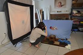 studio lighting equipment for portrait photography detailed tutorial for how to get soft even newborn portrait