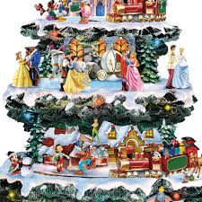 disney christmas carousel tree hammacher schlemmer