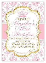 best 25 princess birthday invitations ideas on pinterest