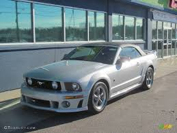 2005 ford mustang roush 2005 satin silver metallic ford mustang roush stage 1 convertible